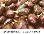 pile of vegetable   Shutterstock . vector #1081445915