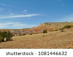 ghost ranch new mexico abiquiu... | Shutterstock . vector #1081446632