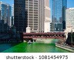 chicago  il   usa   3 17 2018 ... | Shutterstock . vector #1081454975