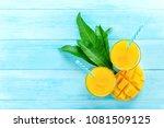 refreshing drinks for summer ...   Shutterstock . vector #1081509125