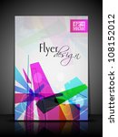 professional business flyer ... | Shutterstock .eps vector #108152012