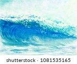 Watercolor Painting Panorama...