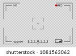 camera view viewing images.... | Shutterstock .eps vector #1081563062