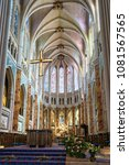 chartres  france   may 22  2017 ... | Shutterstock . vector #1081567565