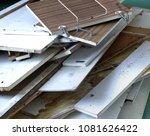 kitchen furniture dismantle | Shutterstock . vector #1081626422