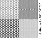vector fishnet pattern in... | Shutterstock .eps vector #1081645262
