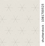 vector seamless pattern. modern ...   Shutterstock .eps vector #1081700525
