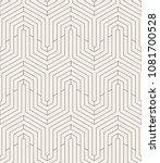 vector seamless pattern. modern ... | Shutterstock .eps vector #1081700528