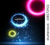 abstract bubble speech... | Shutterstock .eps vector #108172922