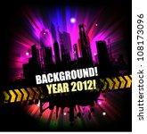 dark grunge modern template   Shutterstock .eps vector #108173096