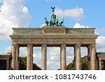 berlin  germany. capital city... | Shutterstock . vector #1081743746