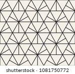 vector seamless pattern. modern ... | Shutterstock .eps vector #1081750772