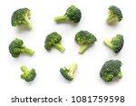 Green Broccoli Pattern Food....