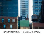 close up view of the new york... | Shutterstock . vector #1081764902