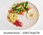 parsley salad with lemon ...