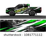 truck graphic vector. abstract...   Shutterstock .eps vector #1081771112