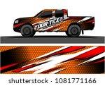 truck graphic vector. abstract...   Shutterstock .eps vector #1081771166