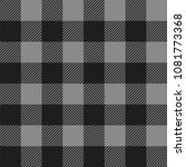 gray and black buffalo check... | Shutterstock .eps vector #1081773368