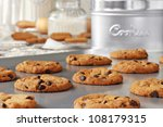 baking still life of freshly... | Shutterstock . vector #108179315