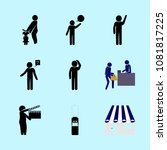 icons about human with child ... | Shutterstock .eps vector #1081817225