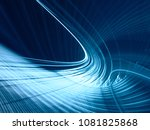 abstract blue toned background... | Shutterstock . vector #1081825868