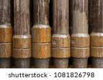 oil drill pipe   Shutterstock . vector #1081826798