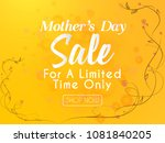 nice and beautiful sale... | Shutterstock .eps vector #1081840205