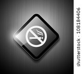 no smoking sign modern design.... | Shutterstock .eps vector #108184406