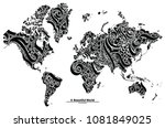 A Beautiful World  World Map...