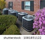 high efficiency modern ac...   Shutterstock . vector #1081851122