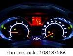 Modern Car Illuminated...