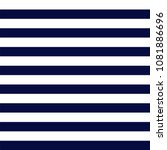 navy blue and white stripes... | Shutterstock .eps vector #1081886696