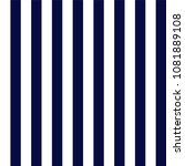 navy blue and white stripes... | Shutterstock .eps vector #1081889108