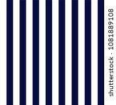 navy blue and white stripes... | Shutterstock .eps vector #1081889108