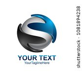 letter s logo design template... | Shutterstock .eps vector #1081894238