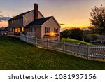 beautiful colonial american... | Shutterstock . vector #1081937156