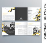 brochure design  brochure... | Shutterstock .eps vector #1081939442