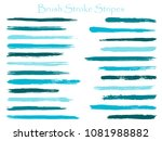 futuristic ink brush stroke... | Shutterstock .eps vector #1081988882