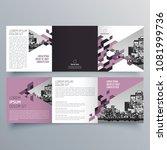 brochure design  brochure... | Shutterstock .eps vector #1081999736