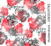 seamless pattern abstract...   Shutterstock . vector #1082019782