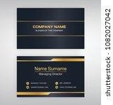 bussiness moden name card... | Shutterstock .eps vector #1082027042