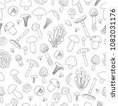 vector seamless pattern of...   Shutterstock .eps vector #1082031176