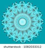 abstract circular pattern of... | Shutterstock . vector #1082033312