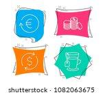 set of dollar exchange ... | Shutterstock .eps vector #1082063675