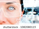 augmented reality marketing and ... | Shutterstock . vector #1082080115