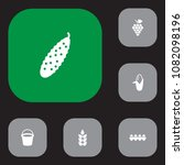 set of 6 agriculture icons set. ... | Shutterstock .eps vector #1082098196