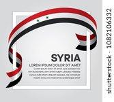 syria flag background | Shutterstock .eps vector #1082106332