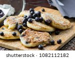 racuchy   small pancakes with... | Shutterstock . vector #1082112182