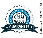 great value label illustration | Shutterstock .eps vector #1082113118