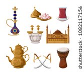 turkish traditional heritage... | Shutterstock .eps vector #1082117156